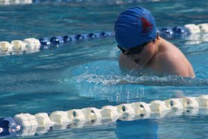 Lachie representing Our Lady of the Pines PS at Victorian Primary School in Swimming